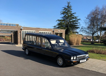 Daimler Hearse for Cremation services Bournemouth, Poole & Ringwood